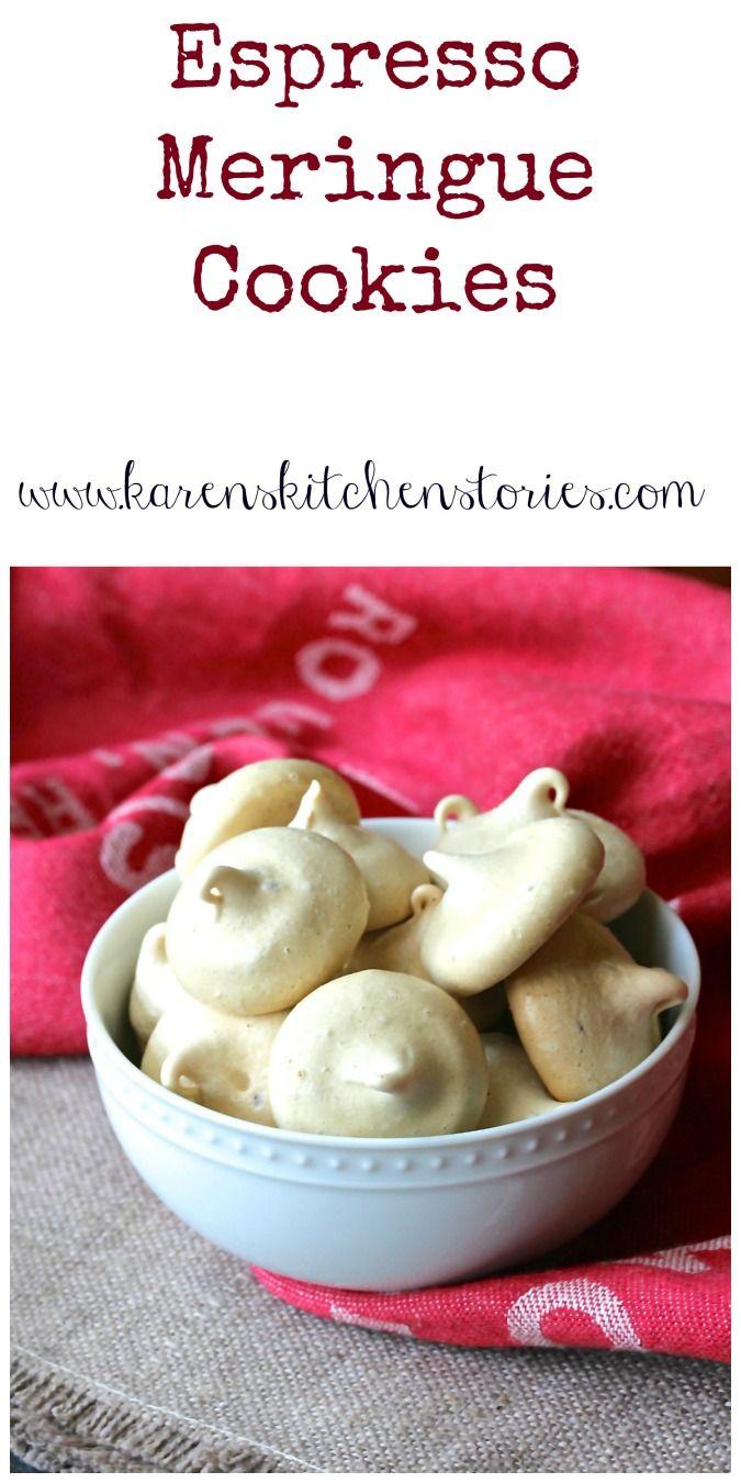 Photo of Espresso Meringue Cookies