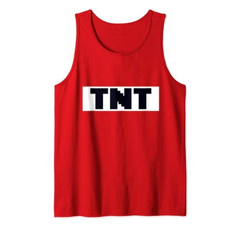 Tnt Costume Diy Easy Costume Family Tnt Halloween Costume Tank Top Men #easycostumesformen