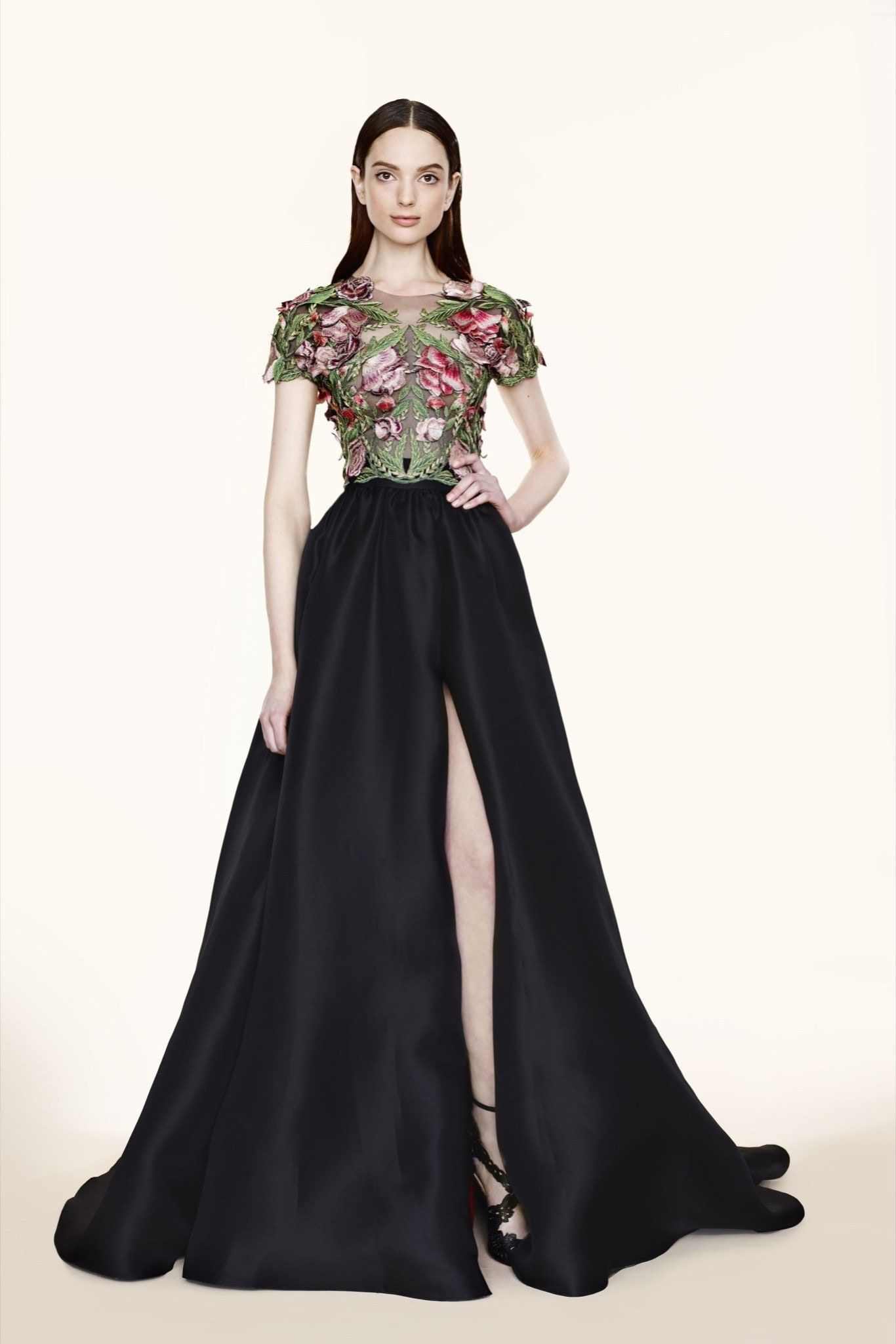 Marchesa Pre-Fall 2020 Fashion Show - Vogue