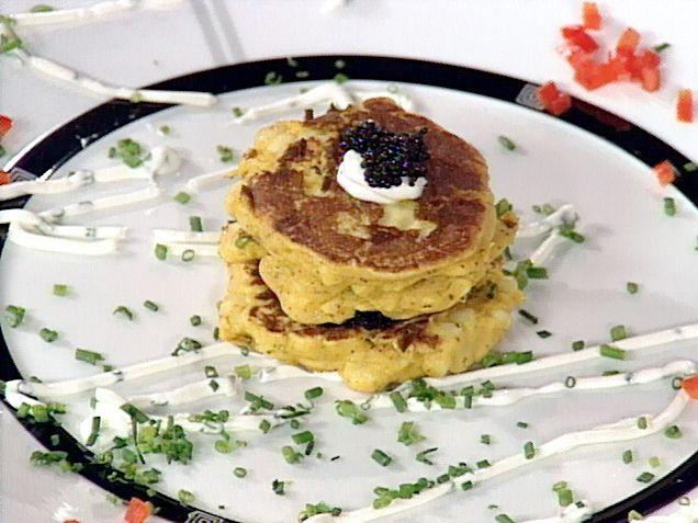 Corn Cakes recipe from Emeril Lagasse via Food Network