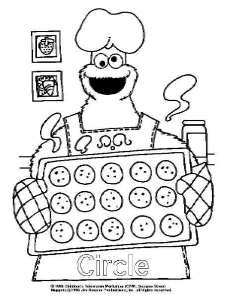 Shapes Coloring Pages For Toddlers Shape Coloring Pages Elmo