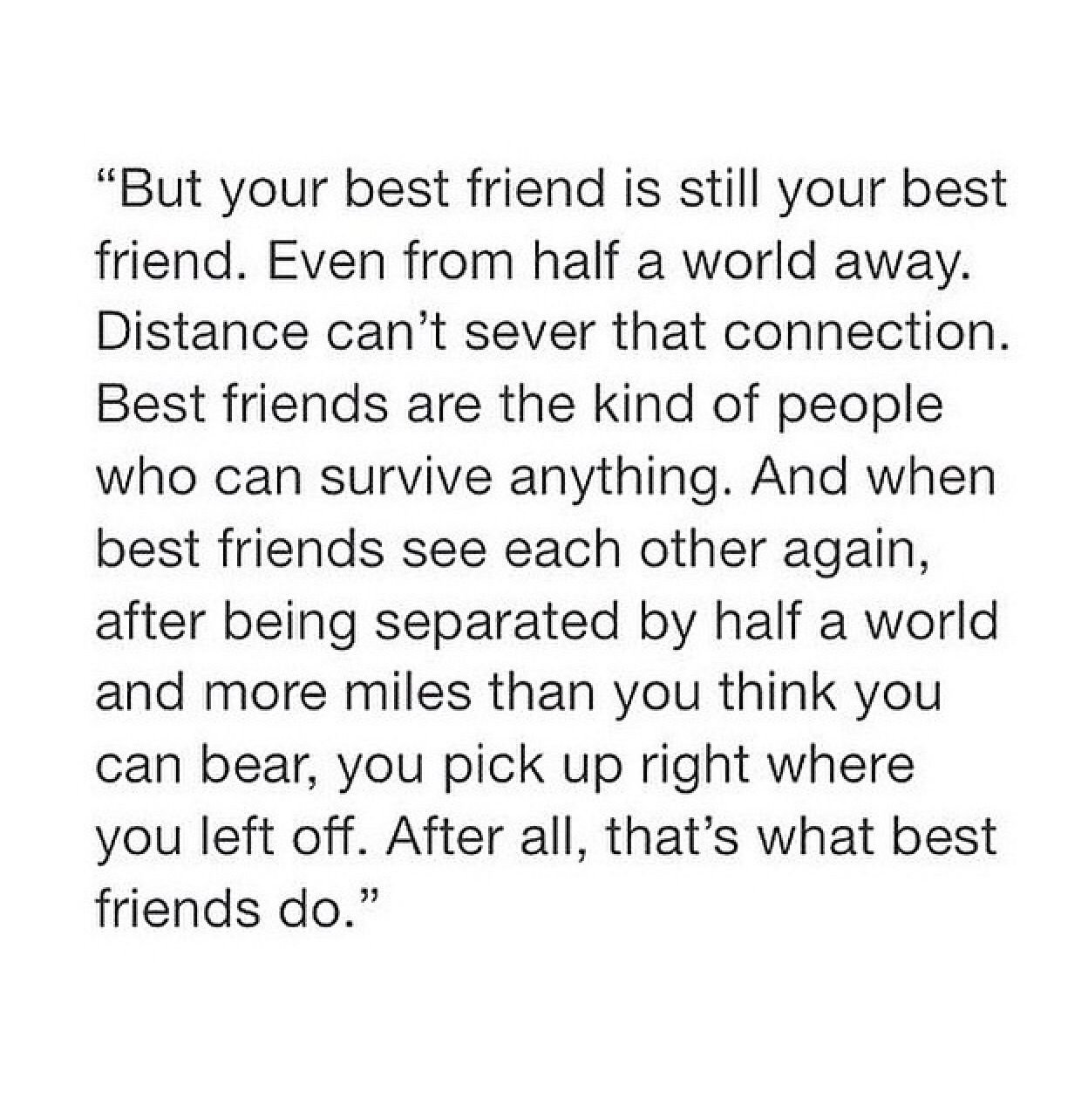 Best Friend Long Distance Text Posts Pinterest Friendship