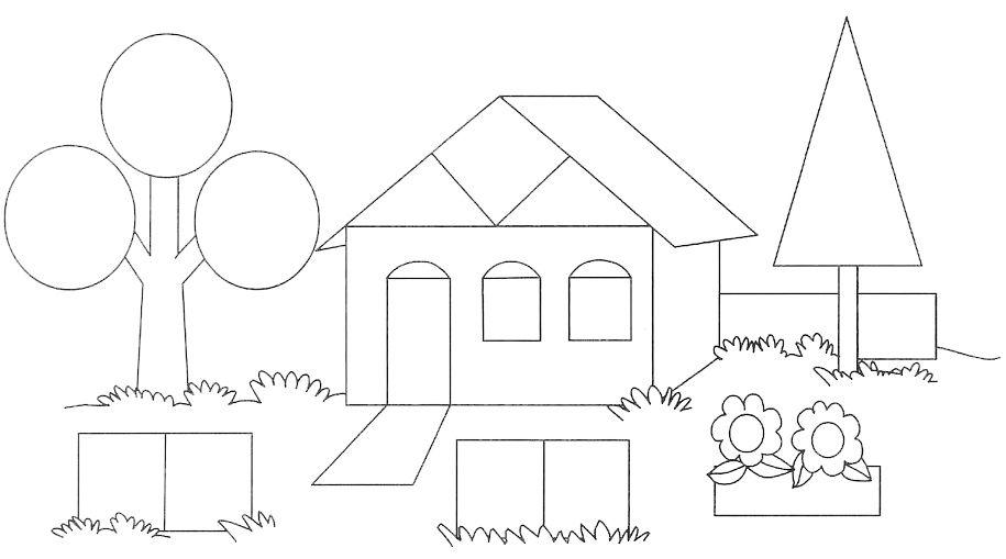 Para Formar Dibujos Con Las Figuras Geometricas De La Web Imagenes Con Figuras Geometricas Figuras Geometricas Para Ninos Dibujos De Figuras Geometricas