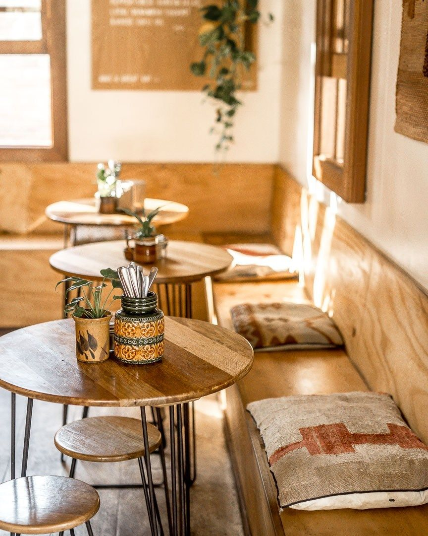How To Order Coffee In Australia Hannah Elizabeth Travel Lifestyle In 2020 Coffee Shop Decor Coffee Shops Interior Coffee Shop Tables