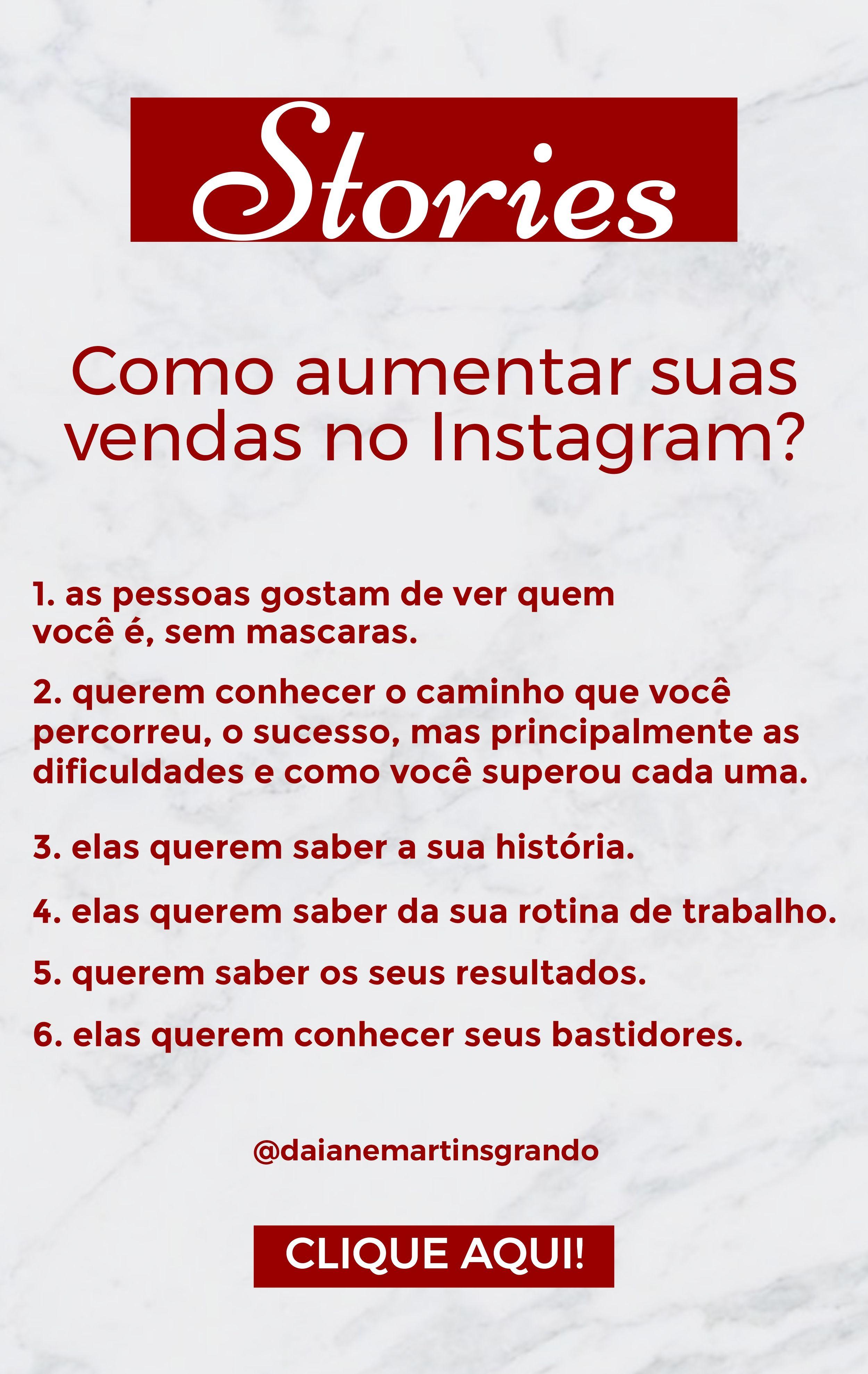 Como vender mais pelos stories do Instagram?