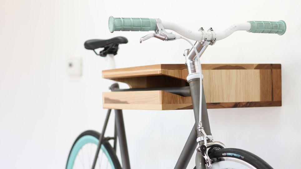 The Sexiest Bike Rack In All Of The Land. Iu0027m Gonna Need Bike Now. Knife U0026  Saw / Home Of The Bike Shelf U0026 Other Wooden Objects Great Ideas