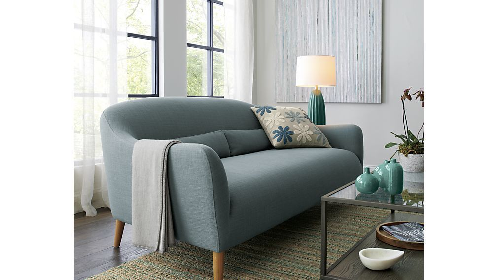 Charmant Pennie Sofa In Cornflower. Front Door To Match This Color?