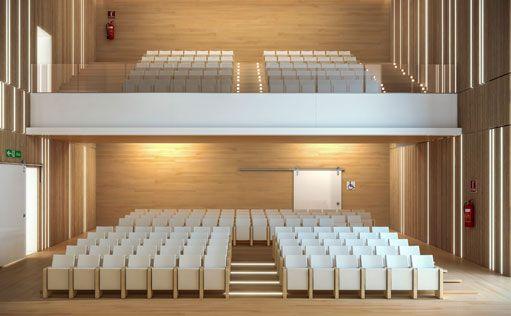 Butacas para auditorios teatros salas palacios de for Salon de usos multiples programa arquitectonico