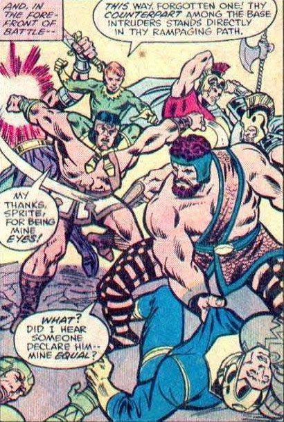 Wonder Man (Classic) vs Forgotten One - Battles - Comic Vine