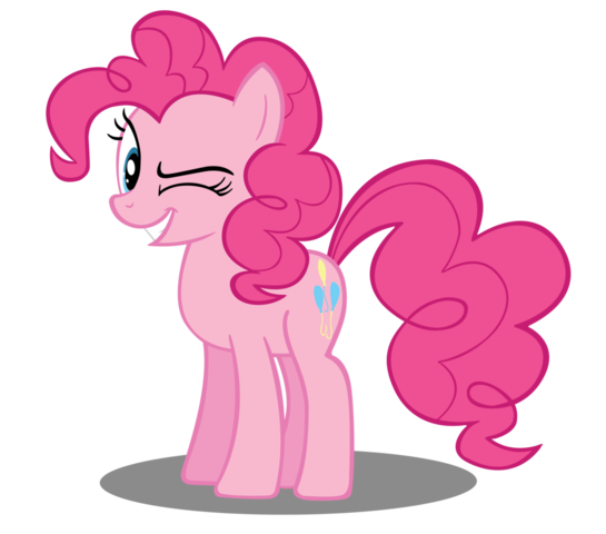 Fanmade Pinkie Pie Wink Vector Png Pinkie Pie Mlp My Little Pony My Lil Pony