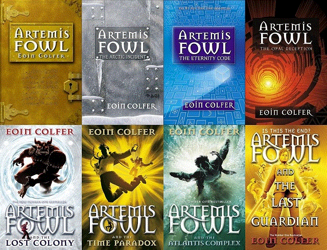 Artemis Fowl Series By Eoin Colfer The Series Has At Least Three