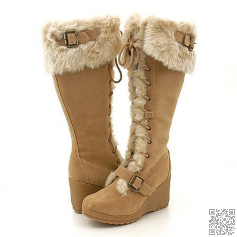 catch 100% high quality footwear 2. #Wedge Winter #Boots - 7 Cutest #Winter Boots ...