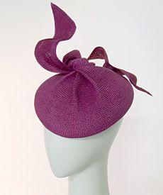 Fashion hat Pipi Longstocking, designed by Melbourne milliner Louise Macdonald