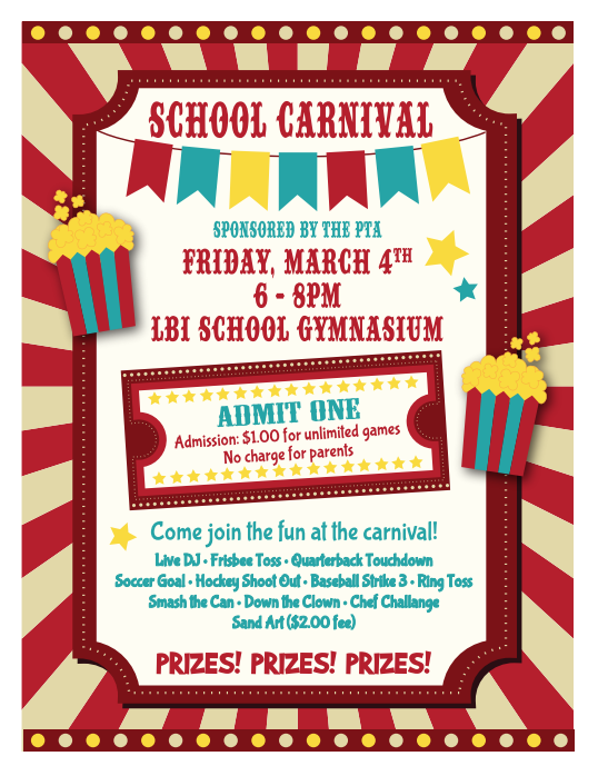 17 Free Carnival Flyer Templates Professional Designs In Word Psd Pdf Free Flyer Templates Flyer Template Flyer
