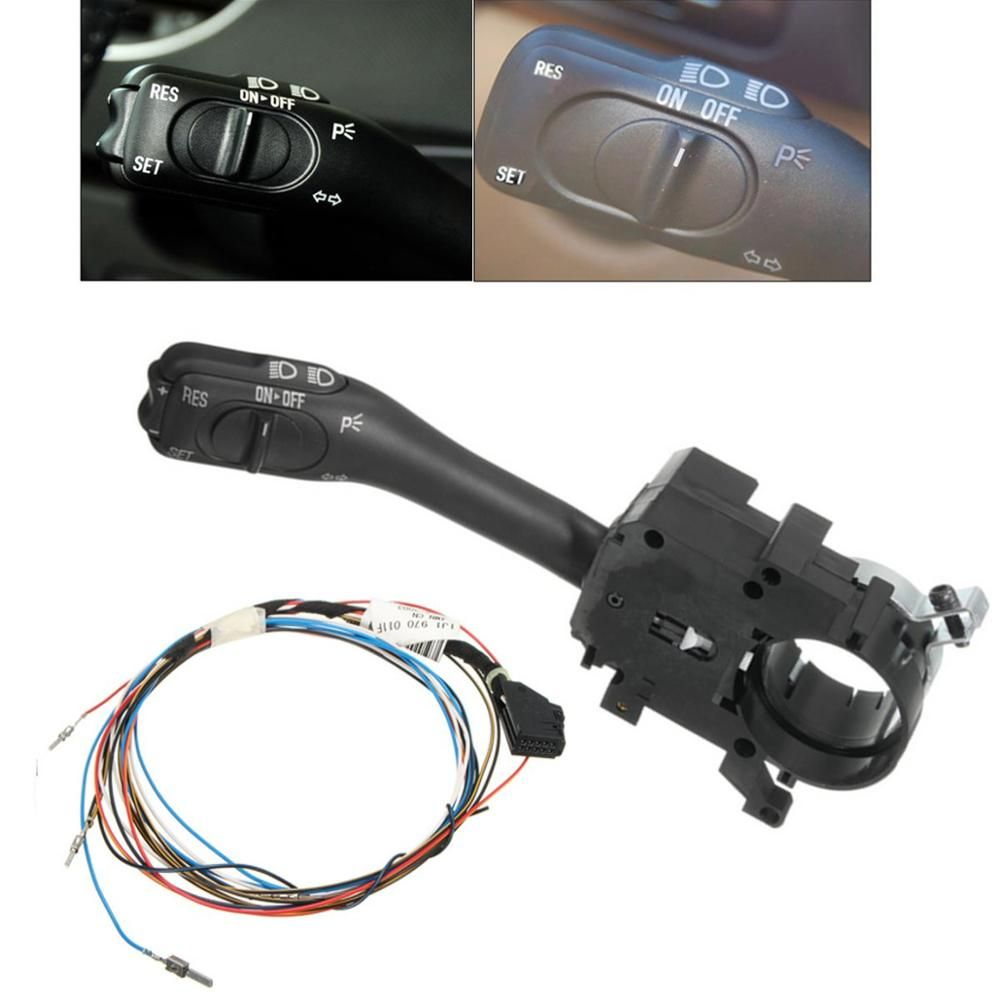 Hot Sale Cruise Control System Indicator Stalk Switch Harness Wire For Vw Golf Gti Bora Mk4 18g 953 513 A 1j1 970 011 Cruise Control Golf Gti Control System