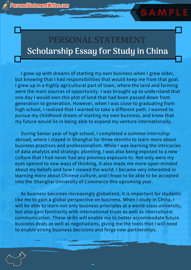 Get Master Personal Statement Scholarship Essay For Study In China By Following Thi Link Http Www Per Example Clinical Psychology Doctorate Uk