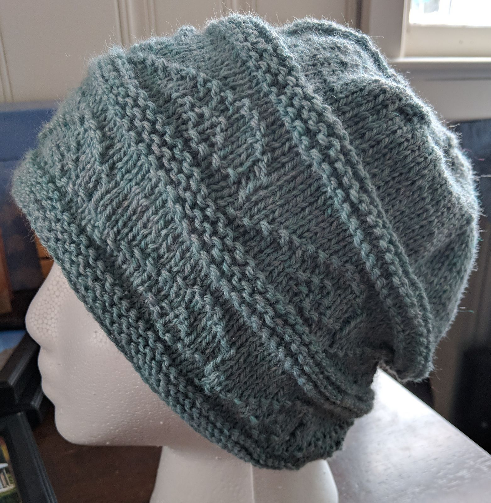 Ravelry: The Double Wave hat by Vicki Caruana | Hat ...