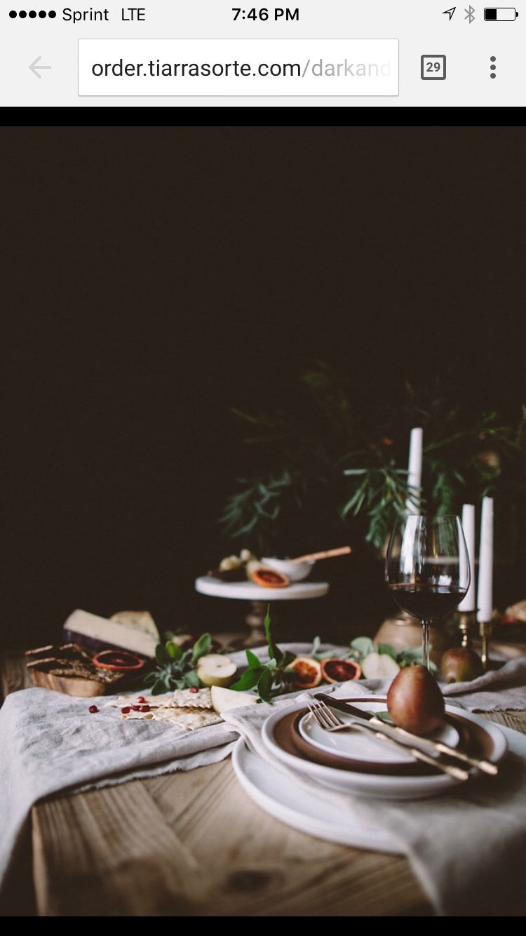 DARK + MOODY  Styling | Restoration House Photography | Tiarra Sorte