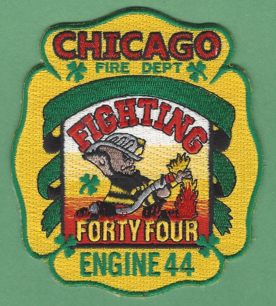 Chicago fire department engine company 44 patch leprechaun chicago fire department engine company 44 patch leprechaun biocorpaavc