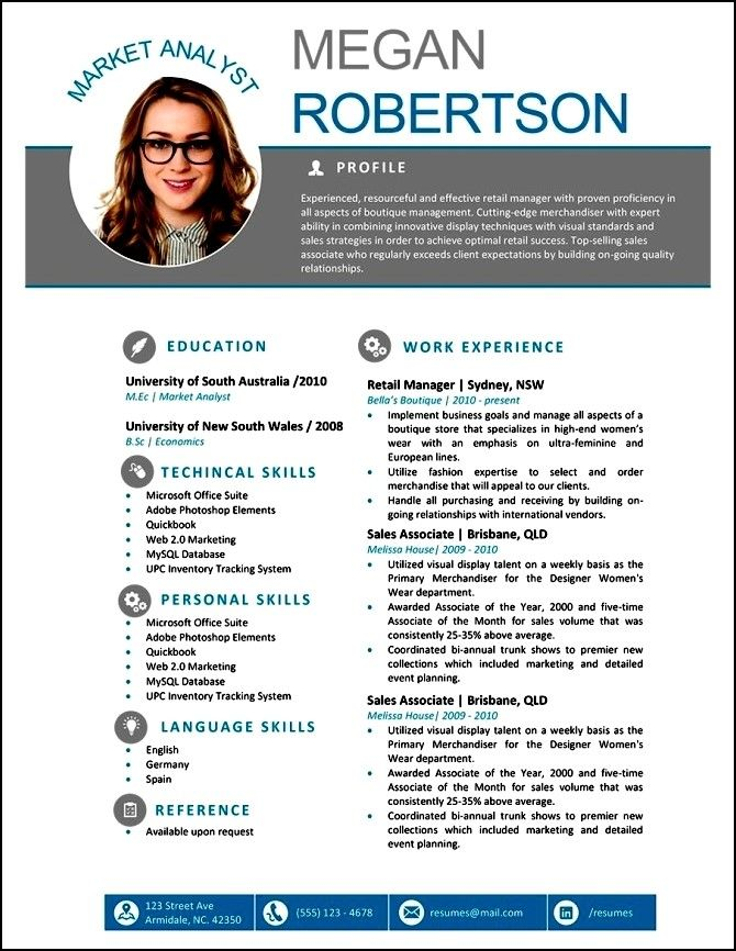 Free Modern Resume Templates For Word Free Samples , Examples - Resume Template Word Free