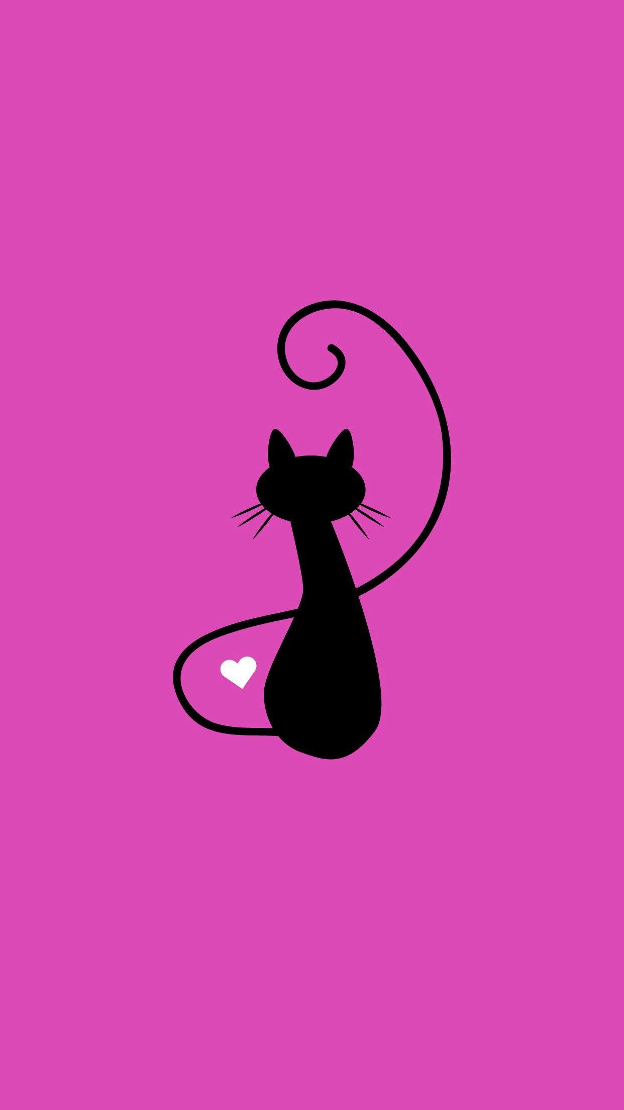 Про успех, картинки с рисованными кошками на телефон