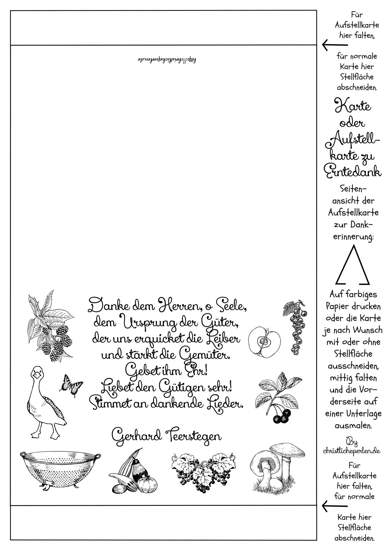 Basteln zu Erntedank   Christliche Perlen   religion   Pinterest ...