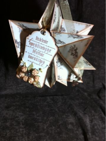 Andersens scrapperier: Stjernebok til ei god venninne ;)