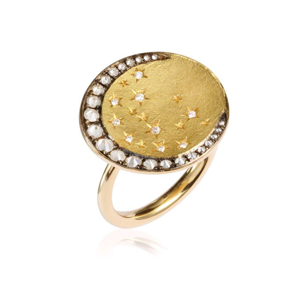 Stellar Moon Ring