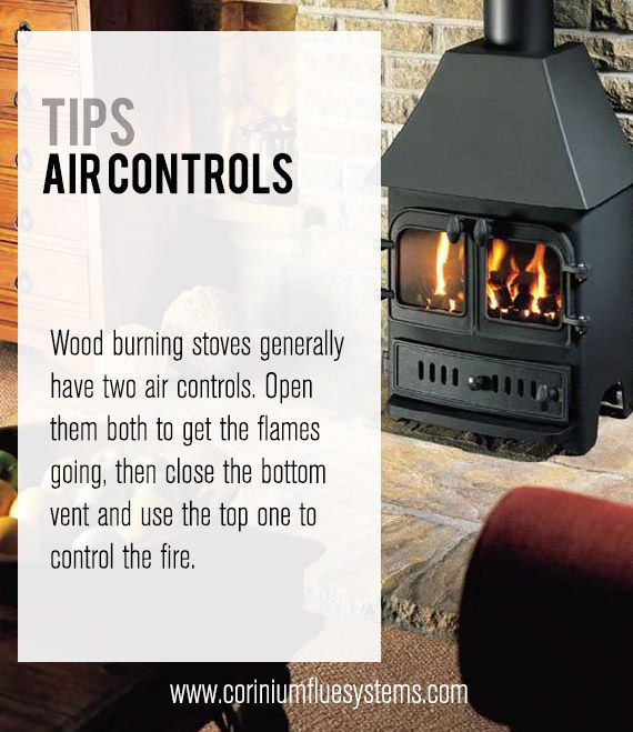 Tips On Air Controls #woodburningstove #stove #wood Home Decor - How To Use Wood Burning Stove WB Designs