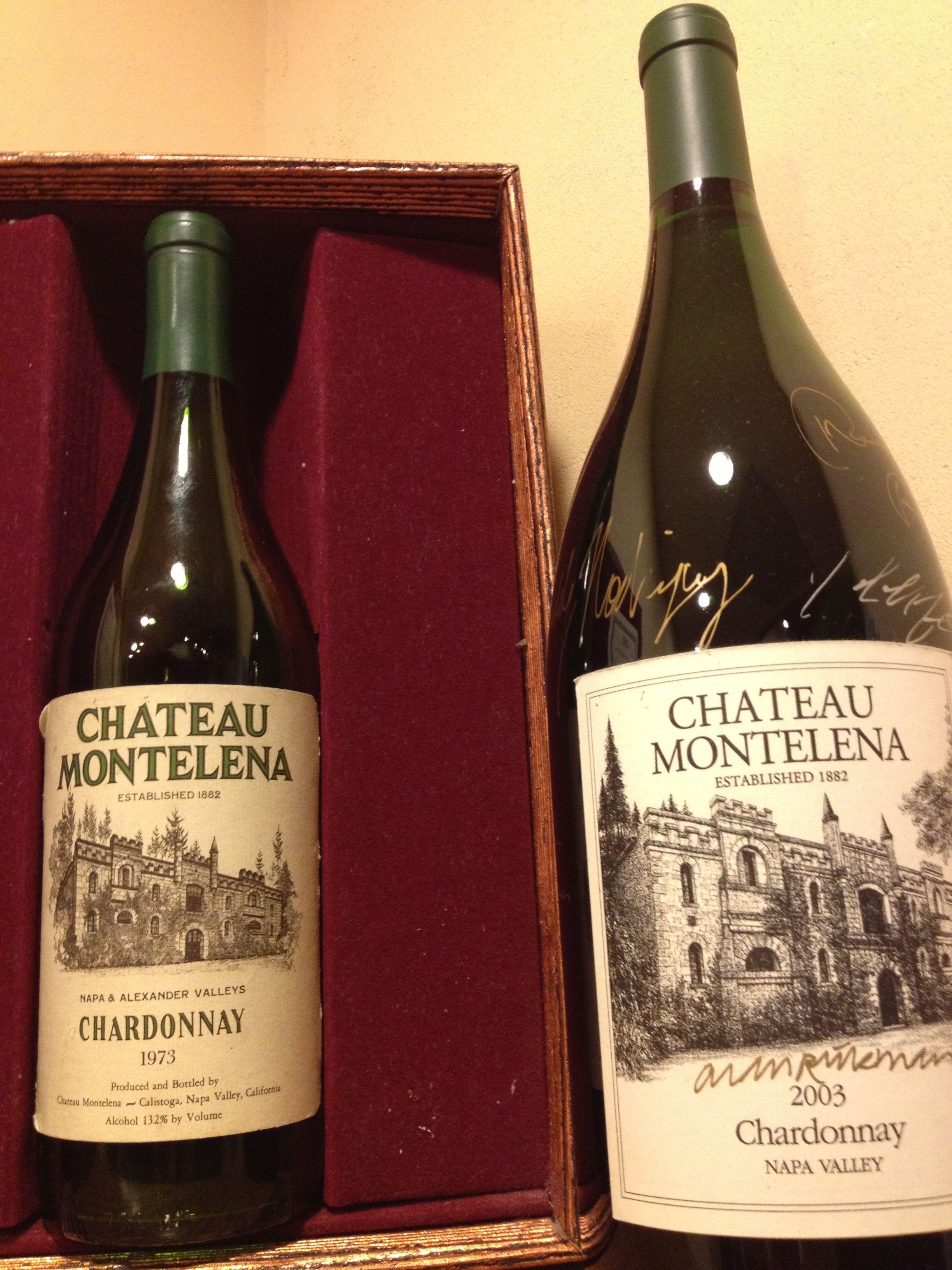 Chateau Montelena Winning Bottle From 1973 Paris Blind Tasting