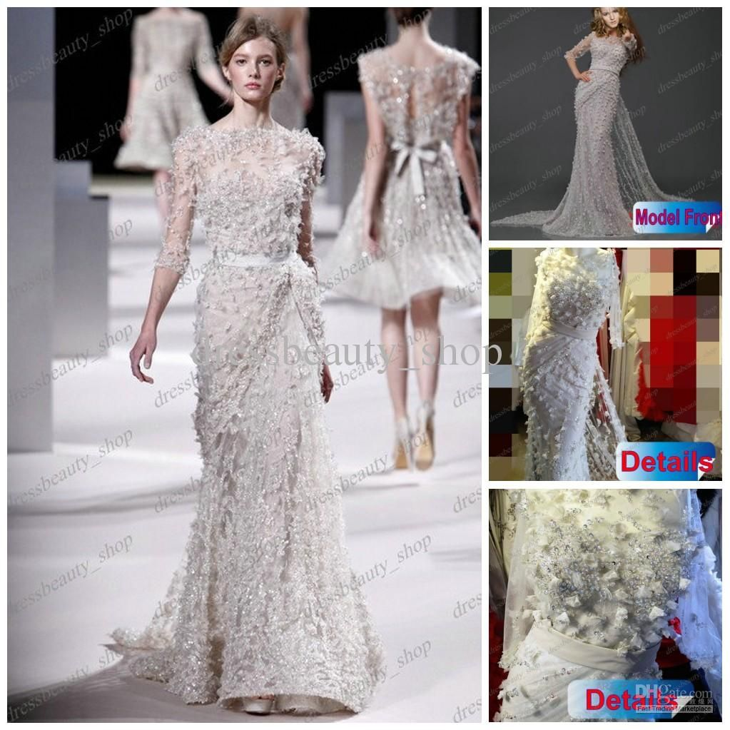 Wholesale party dress buy sexy long sleeve elie saab