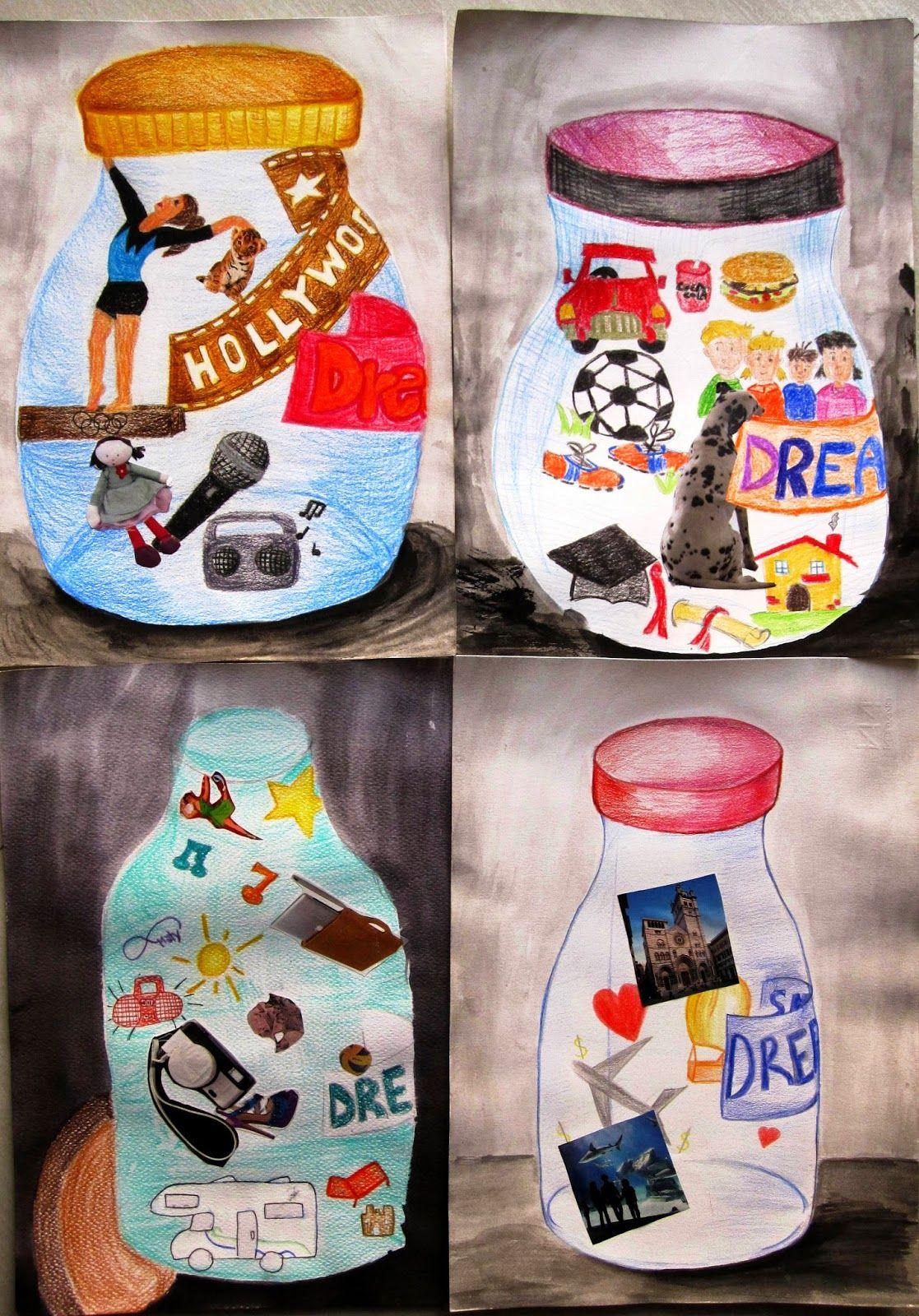 8th grade, my dreams in a jar