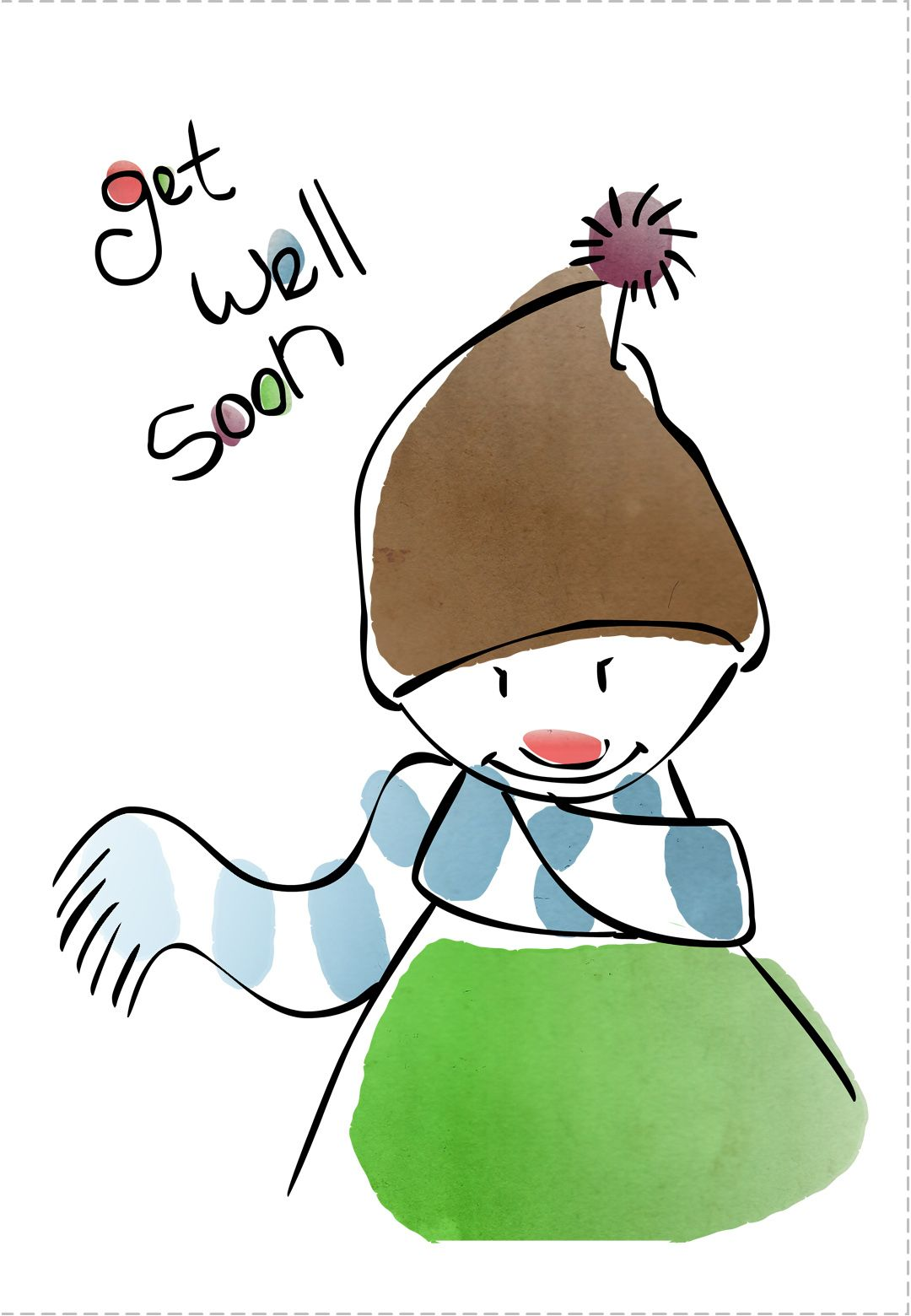Get Well Card Free Printable Get Well Soon Cards Pinterest