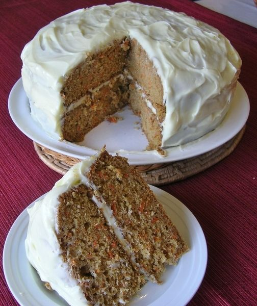 <p>Posted on October 25, 2012 by The Southern Lady</p><p>This carrot cake is one of the best cakes on my site.  My family loves it.  I can make this cake and it won't last two days.</p><p>Whip all frosting ingredients together with mixer until smooth and of spreading consistency.</p><p>Enjoy!</p>