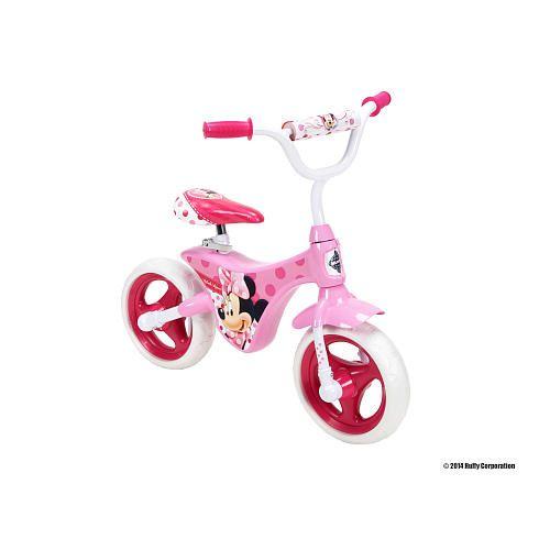 Girls Huffy Disney Minnie Balance Bike Balance Bike Bike Kids Bike