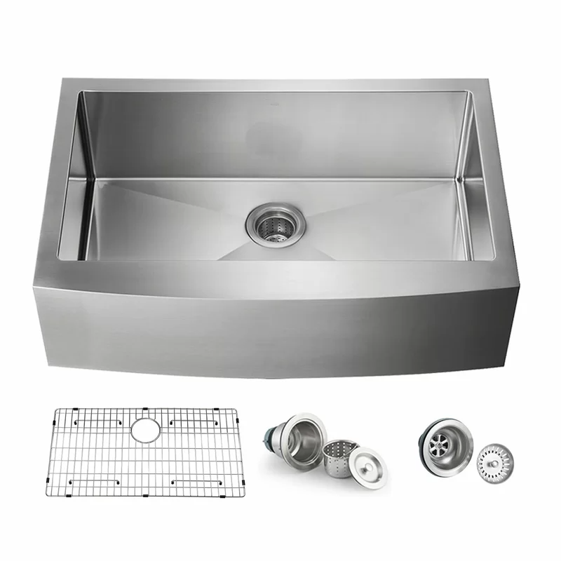 Handcrafted Stainless Steel 36 L X 22 W Undermount Kitchen Sinks Undermount Kitchen Sinks Drop In Kitchen Sink Sink