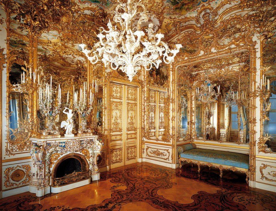 Rococo Revisited Palace Neo Baroque Germany
