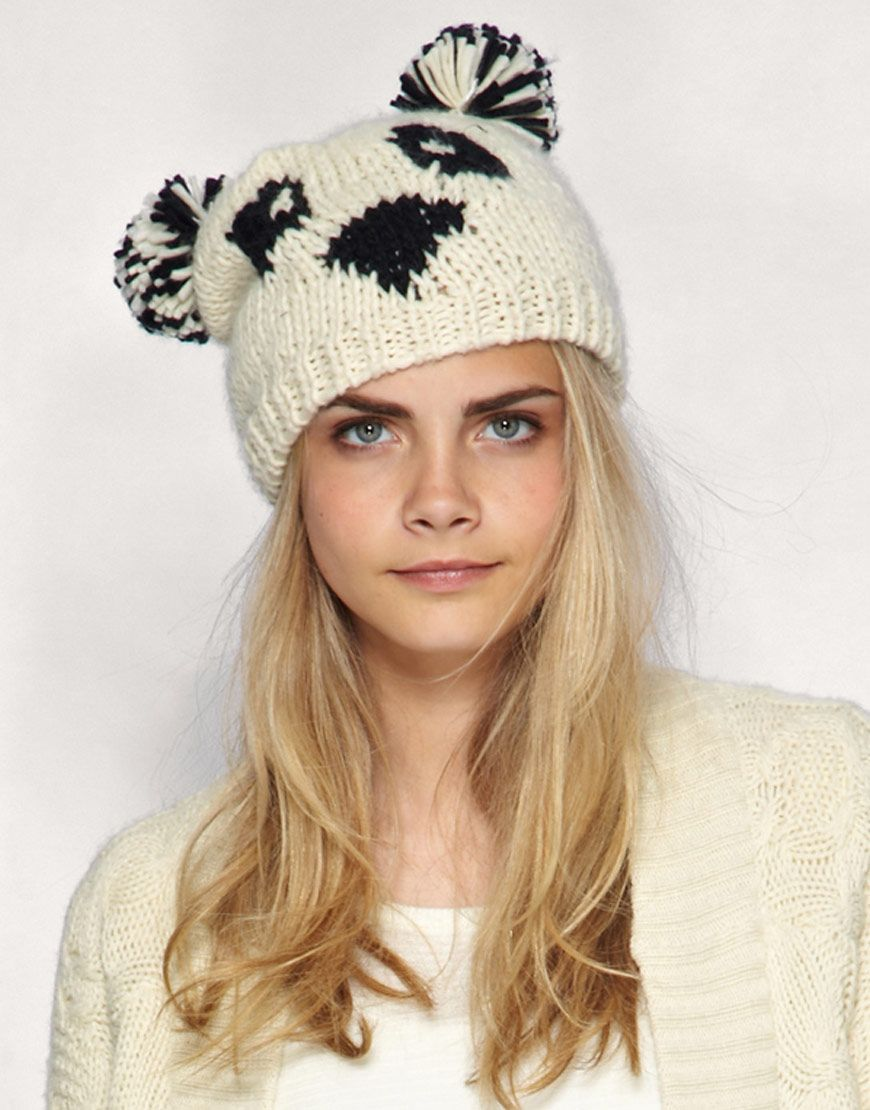 Briley says he wants a knitted panda hat...weird | Fashion ...