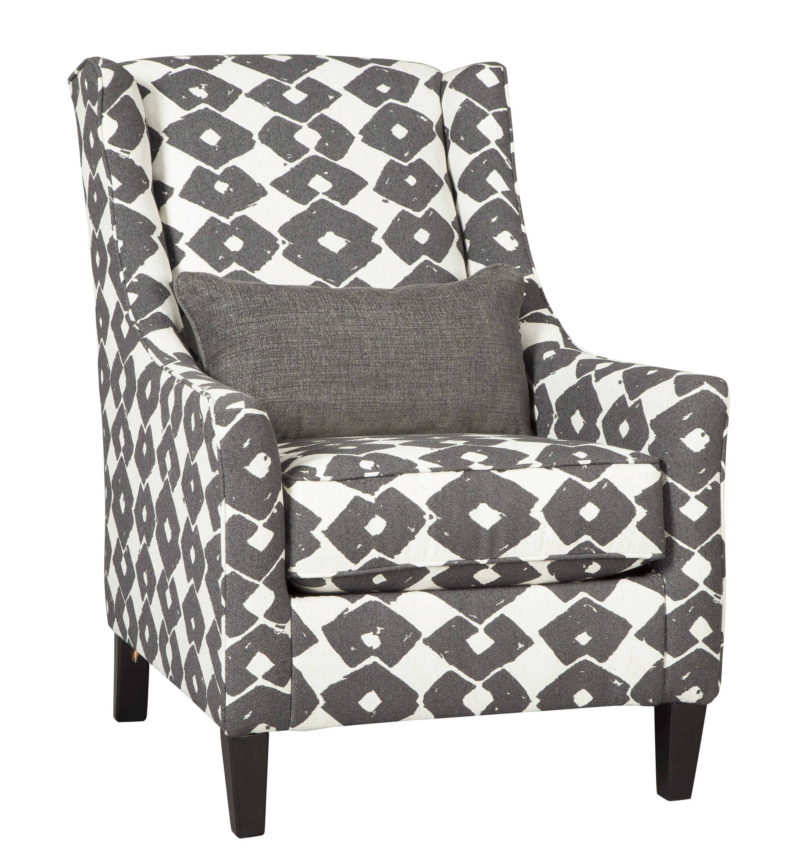 Signature Design By Ashley Brace Granite Accent Chair Accent Chairs