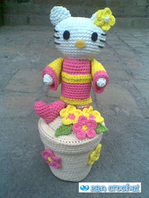 This Hello Kitty I made by my friend request. She asked me to make ...