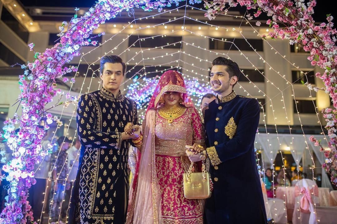 Yeh Rishta Kya Kehlata Hai Actor Mohsin Khan S Sister Zeba Gets Married See Pics Mohsin Khan Getting Married Married After me, he married twice. yeh rishta kya kehlata hai actor mohsin