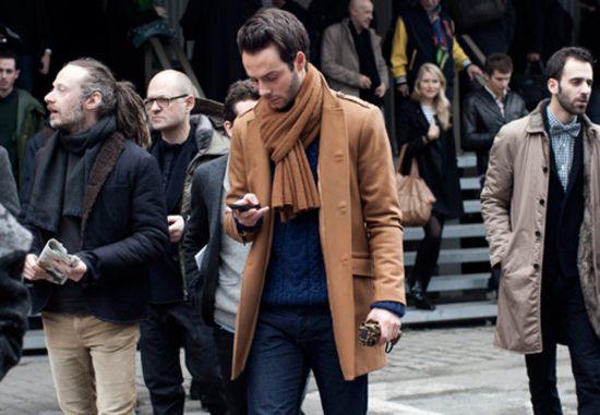 Men's street style 2012. layers.
