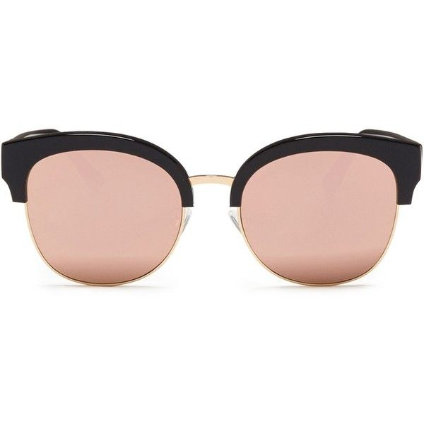 c67c87f712957 Spektre  Skyfall  acetate round mirror sunglasses (33330 ALL) ❤ liked on  Polyvore