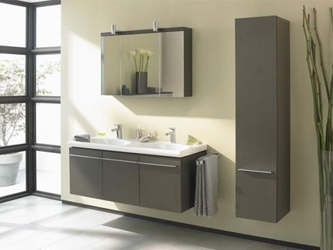 Muebles para Baños Pequeños Modernos diseños de baños Pinterest - muebles para baos pequeos