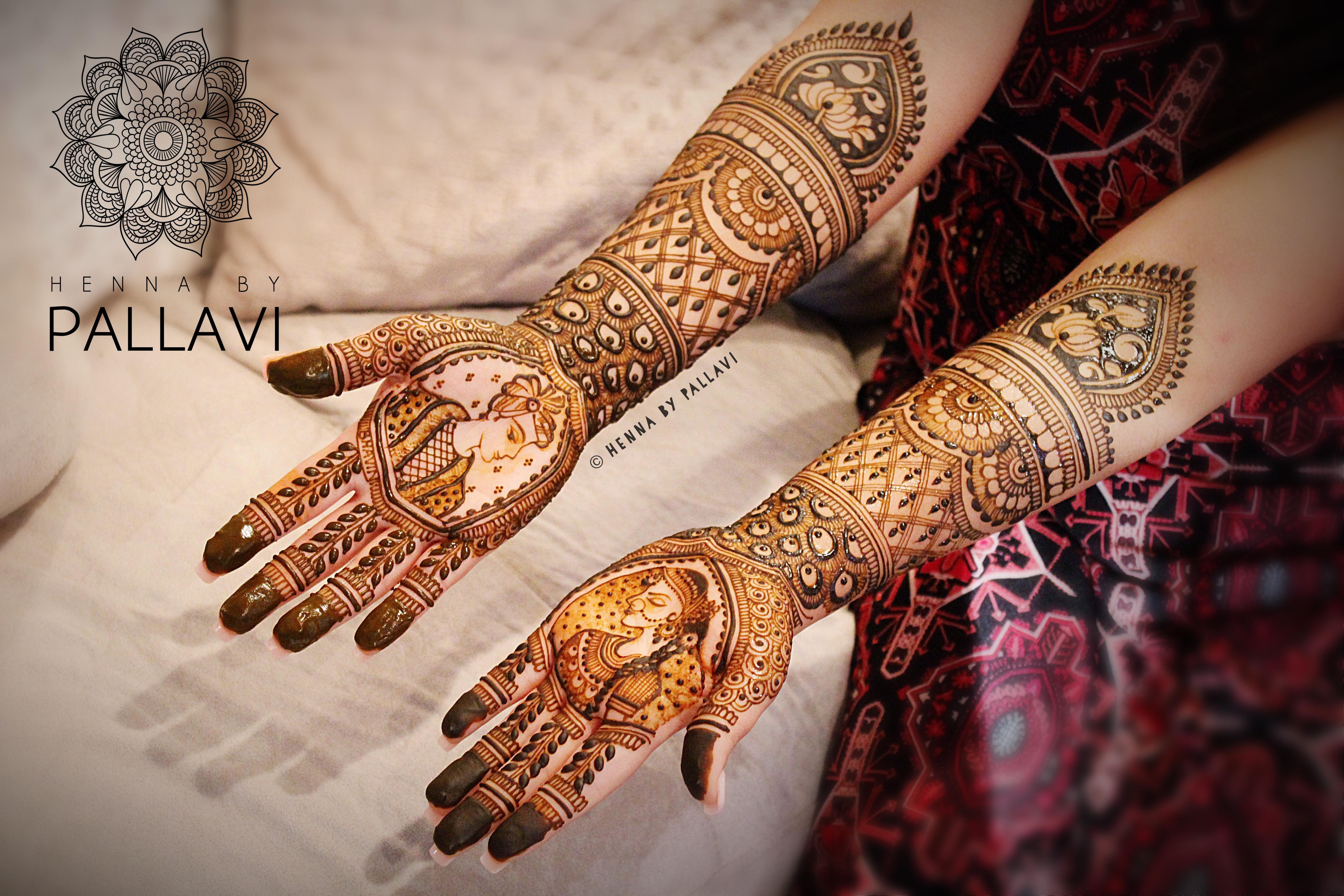 Bridal Mehndi : Dulha dulhan bridal mehndi