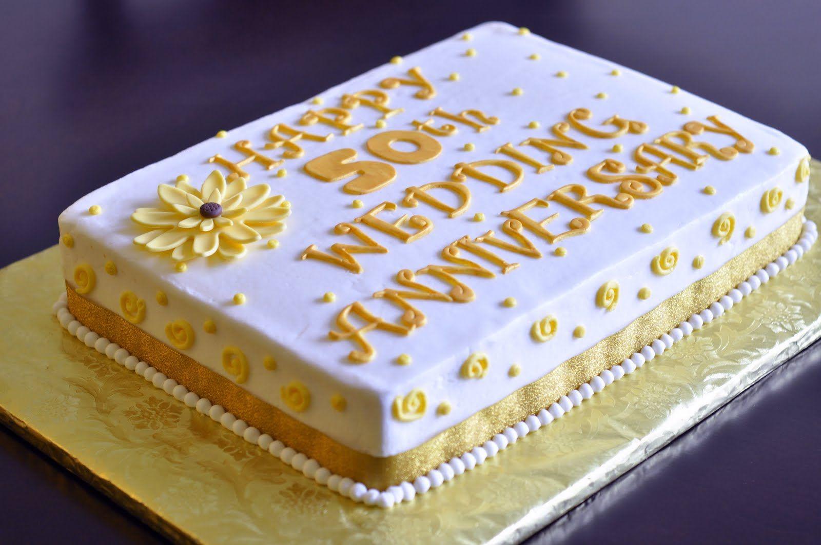 50th Wedding Anniversary Sheet Cakes Tting Some Ideas