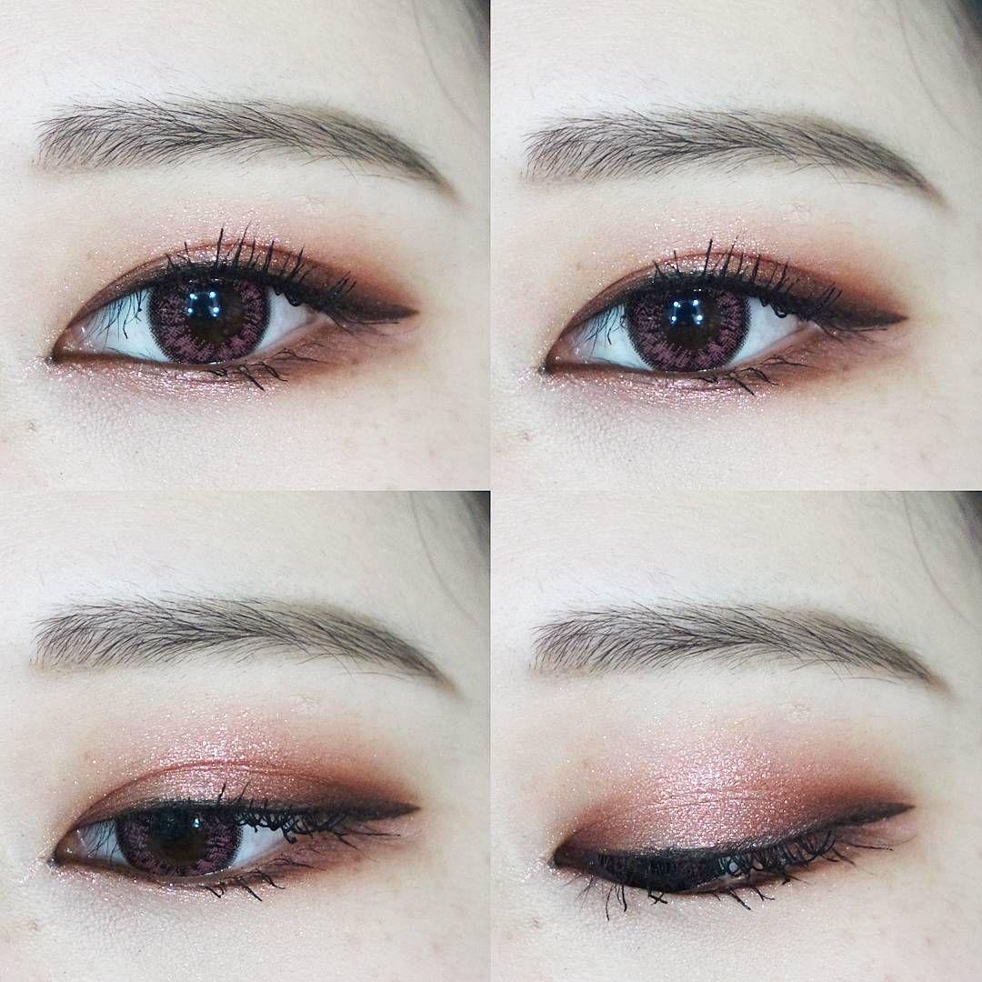 Korea Eyes Make Up Ulzzang dyeo_e Korean eye makeup
