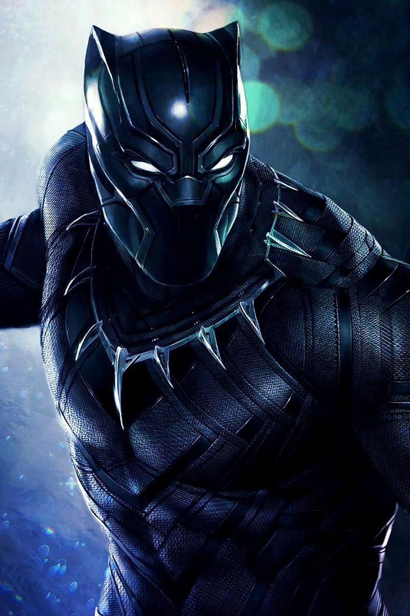 Black_Panther Phone_Wallpapers marvel (с изображениями