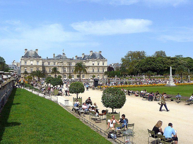 Jardin du Luxembourg .
