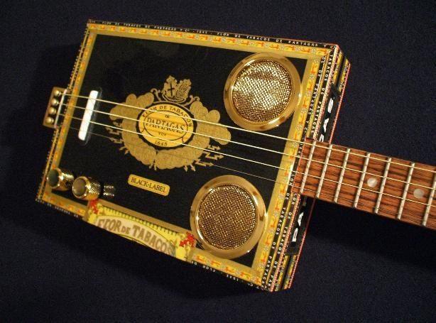 cigar box guitar blues cigar box guitar box guitar cigar boxes. Black Bedroom Furniture Sets. Home Design Ideas